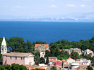 Veli Losinj panoramic view