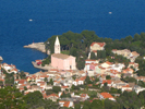 Panoramic view Veli Losinj harbour