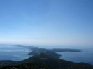 Panoramic view of losinj archipelago