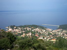 Panoramic view of Veli Losinj from St. Ivan
